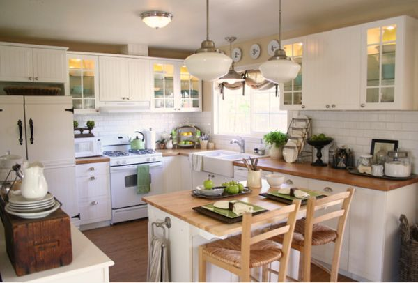 Modern kitchen tables for small spaces photo - 1