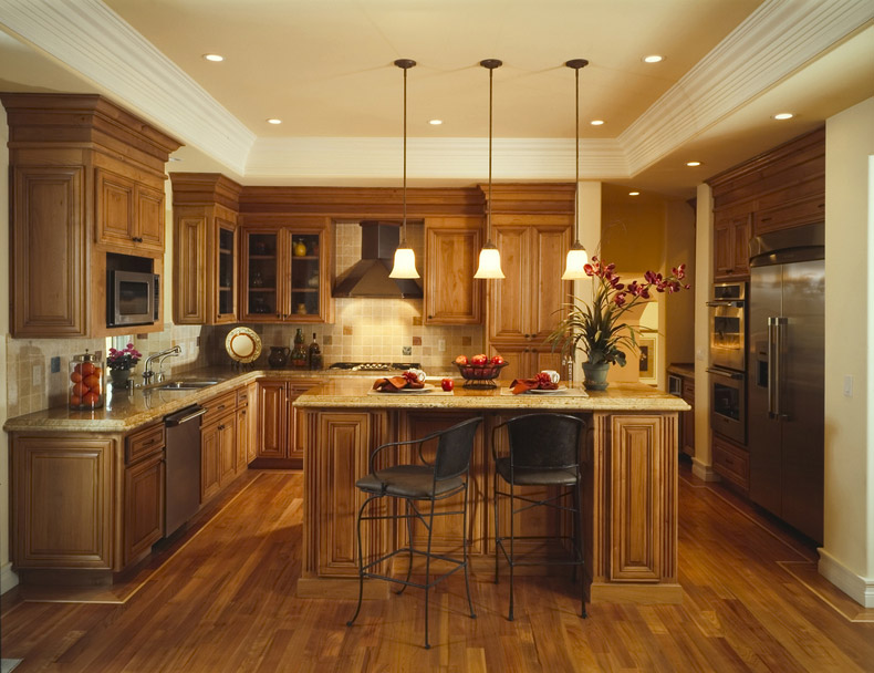 Modern kitchen tables for small spaces photo - 2