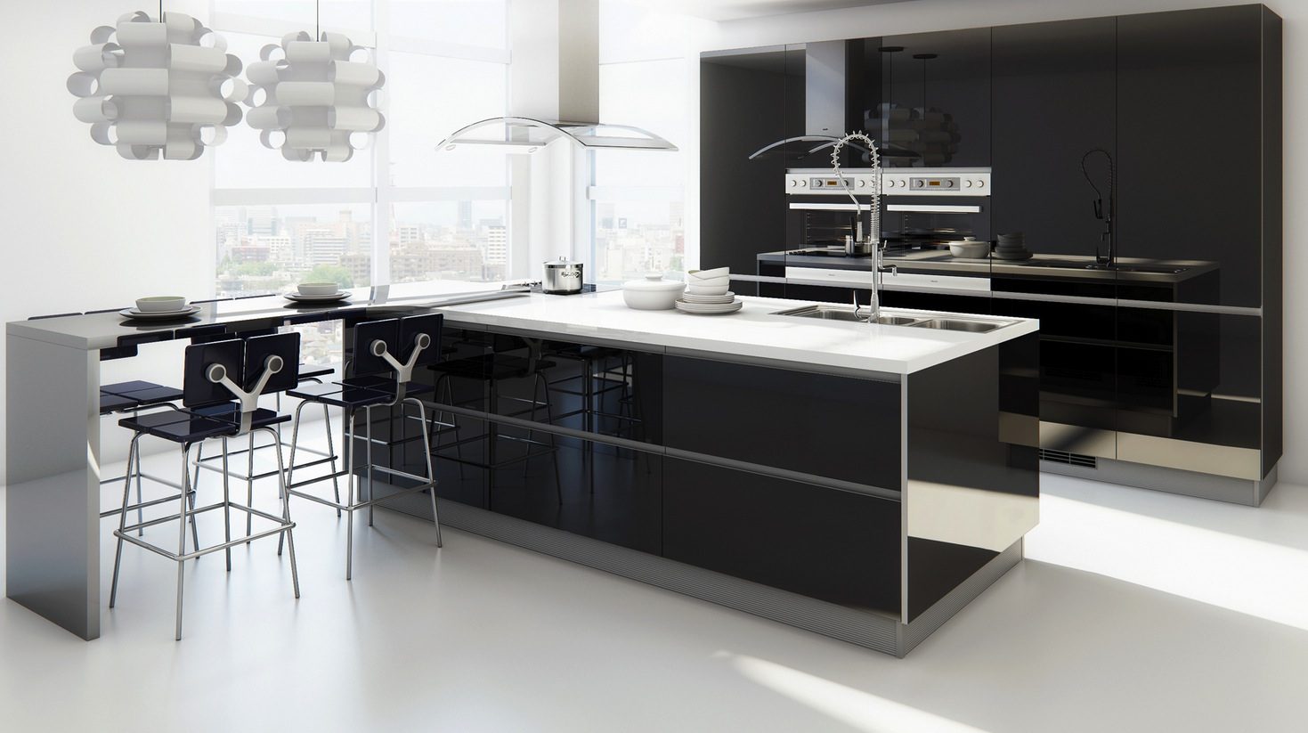 Modern kitchen tables for small spaces photo - 3