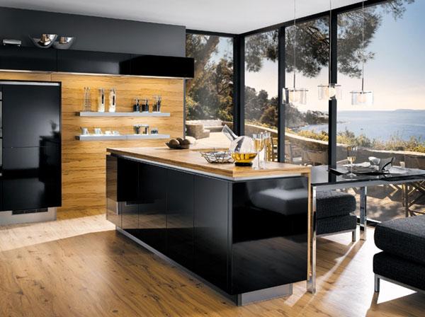 Modern kitchen with island photo - 1