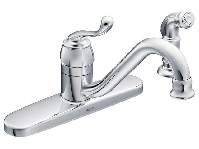 Moen touch control kitchen faucet photo - 2