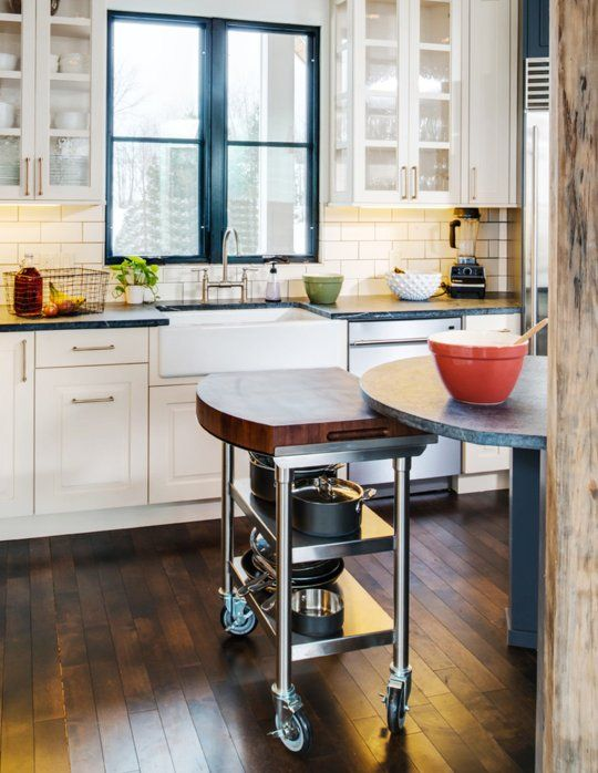 Perfect 10 Photos To Moving Kitchen Island