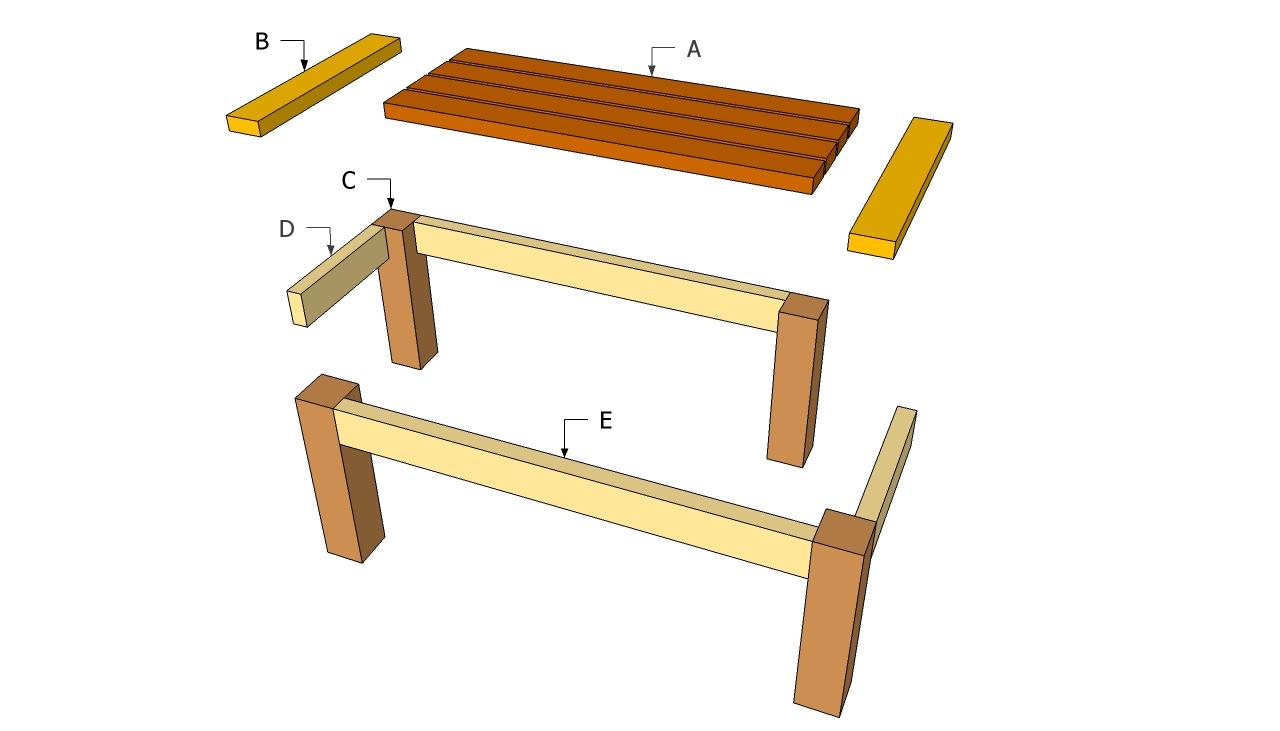 Natural wood kitchen table photo - 3