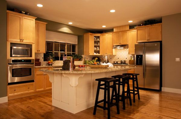 Oak kitchen sets photo - 1
