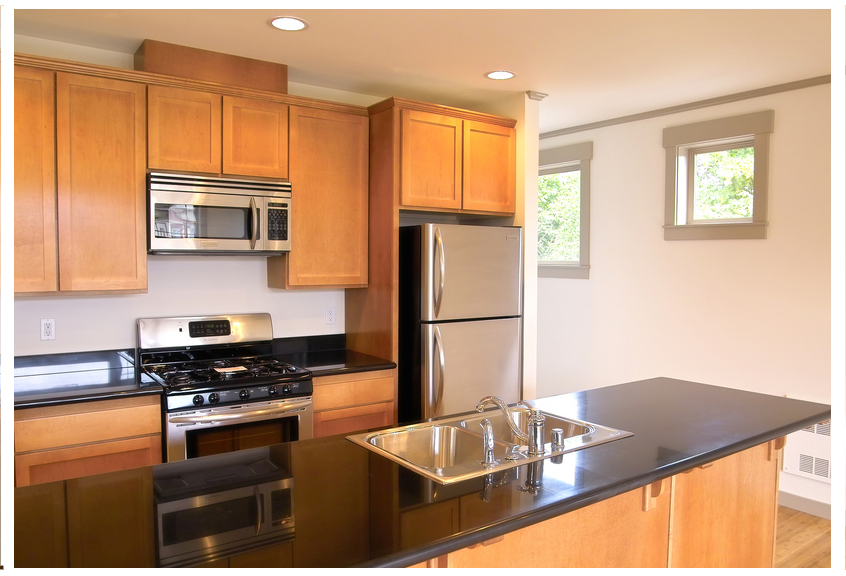 Oak kitchen sets photo - 2
