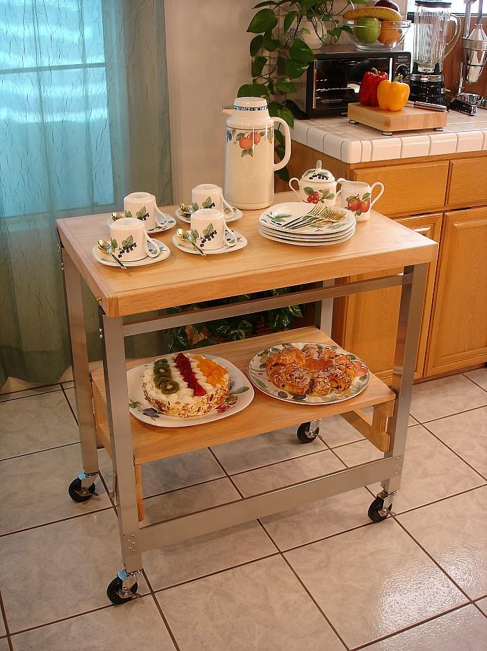 10 Photos To Oasis Island Kitchen Cart