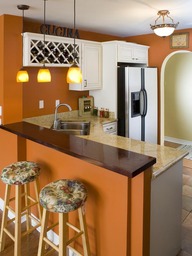 Orange And White Kitchen Ideas Part - 25: Orange Kitchen Accessories Photo - 2
