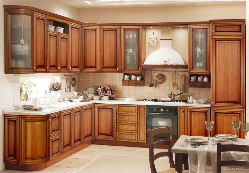 Organized kitchen cabinets photo - 3