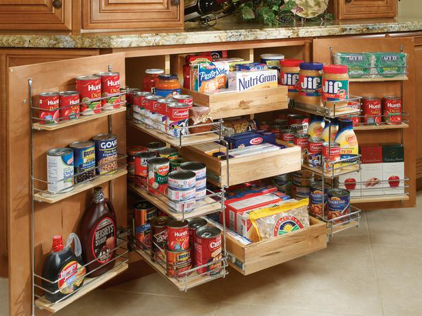 Pantry kitchen cabinet photo - 1