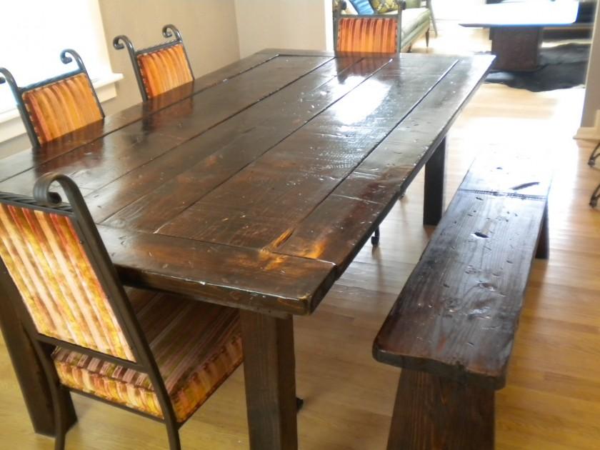 Pedestal kitchen table set photo - 3