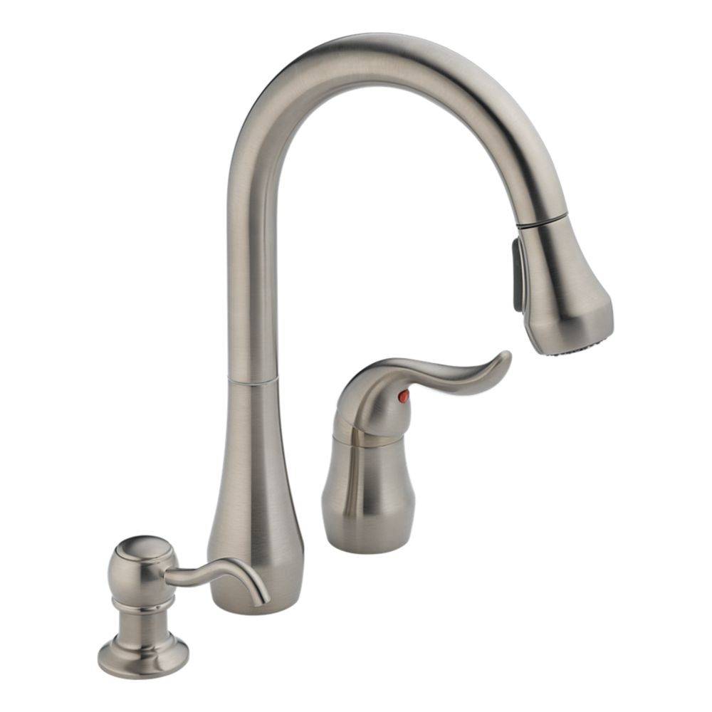 Peerless pull down kitchen faucet photo - 3