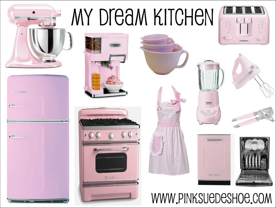 pink kitchen appliances | kitchen ideas
