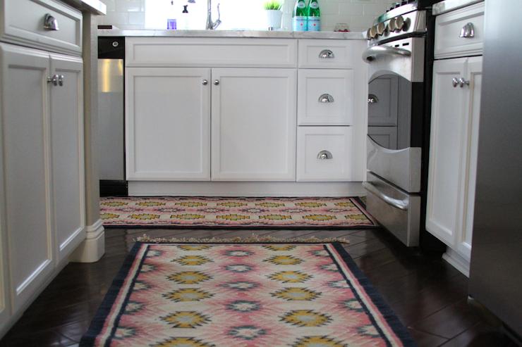Pink kitchen rugs photo - 2