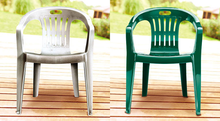 Plastic kitchen chairs photo - 3