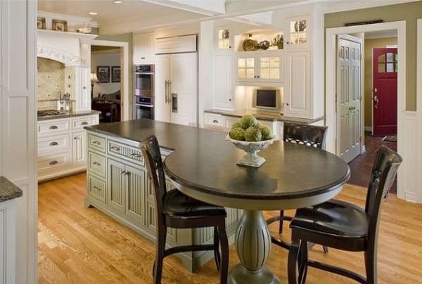 Portable kitchen islands with seating photo - 3
