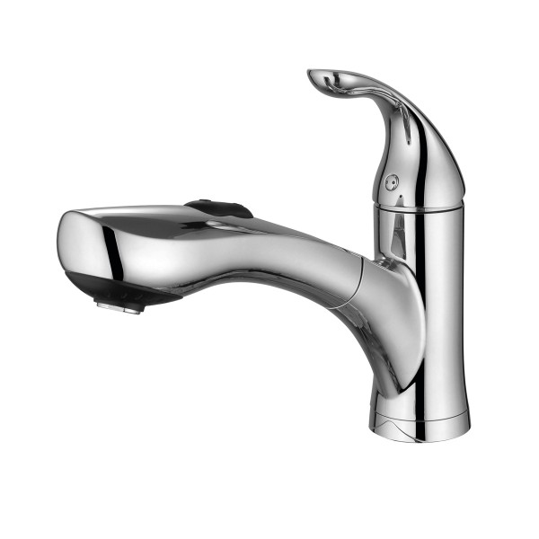 Pull out sprayer kitchen faucet photo - 3