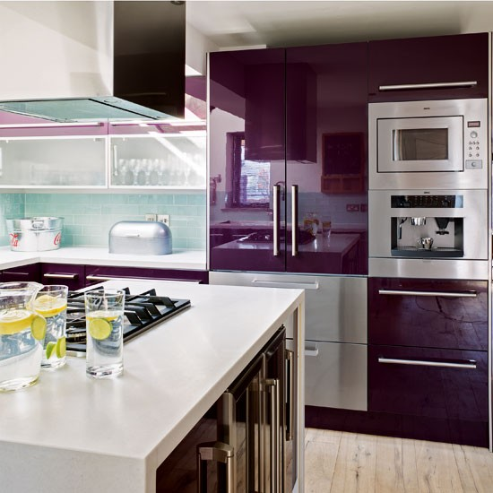 Purple kitchen | | Kitchen ideas