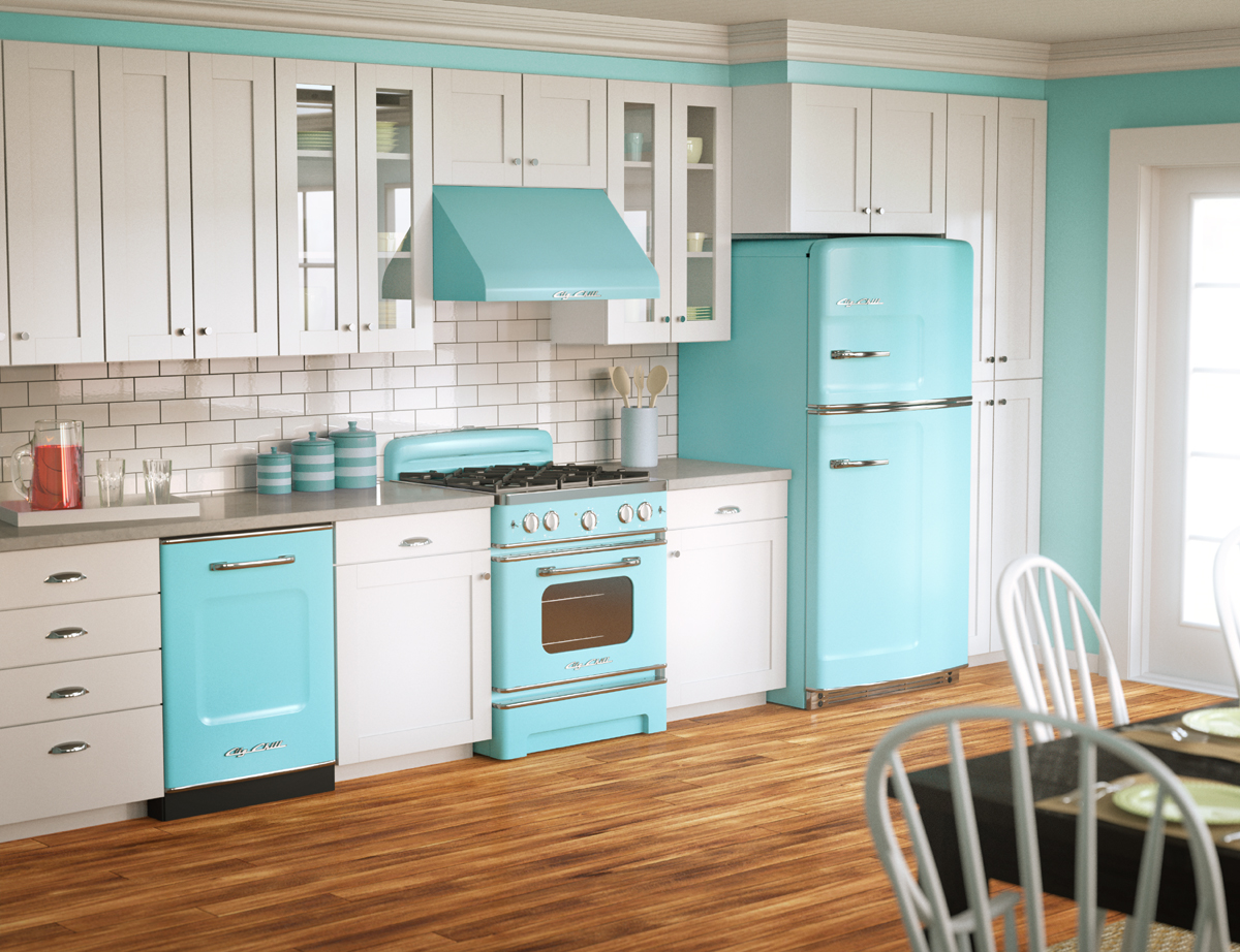 Teal And Purple Kitchen Decor from mykitchenzone.com