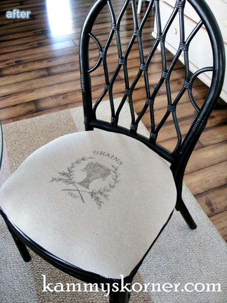 Rattan kitchen table photo - 1