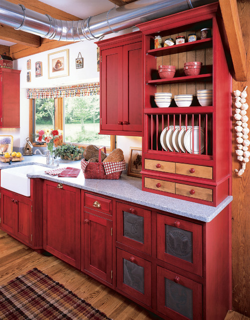 10 Photos To Red And Black Kitchen Accessories