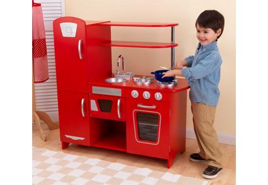 Red kidkraft kitchen photo - 3