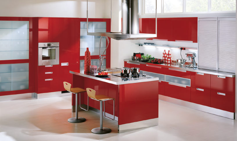 Red kitchen appliances | | Kitchen ideas