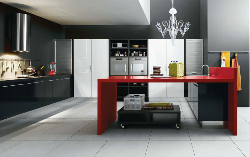 Red kitchen items photo - 2