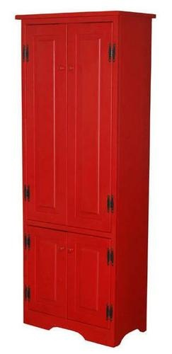 Red kitchen pantry photo - 1