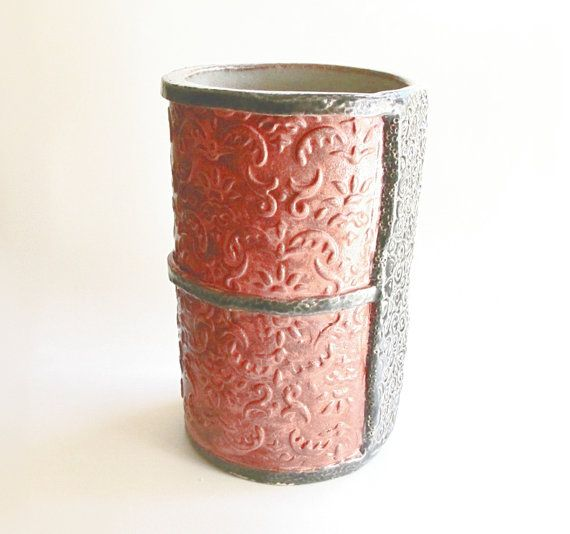 10 Photos To Red Kitchen Utensil Holder