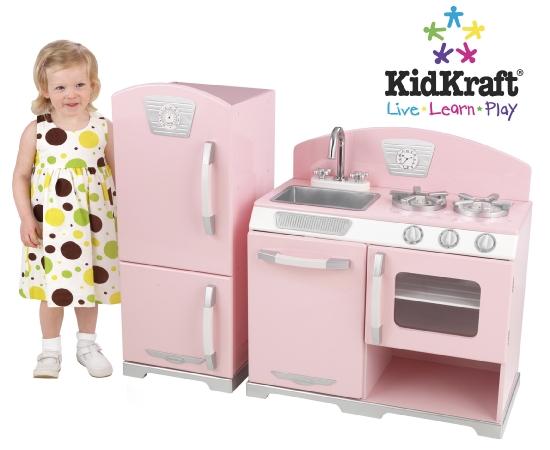 Retro kitchen for kids photo - 2