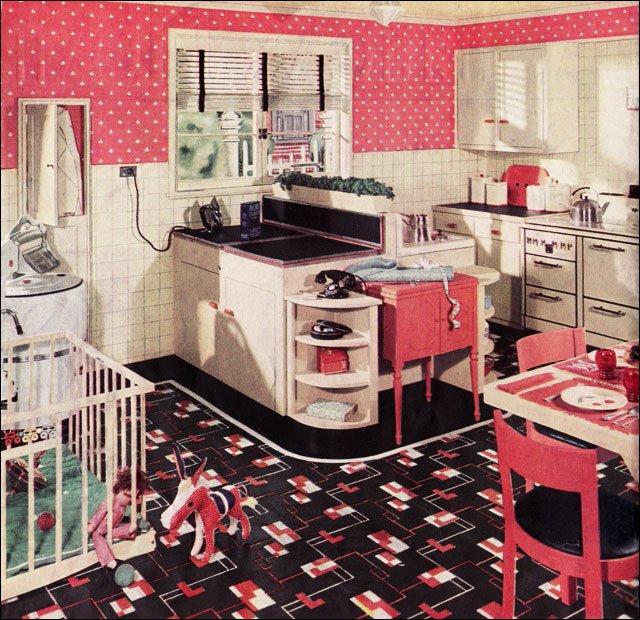 Retro kitchen sets photo - 1