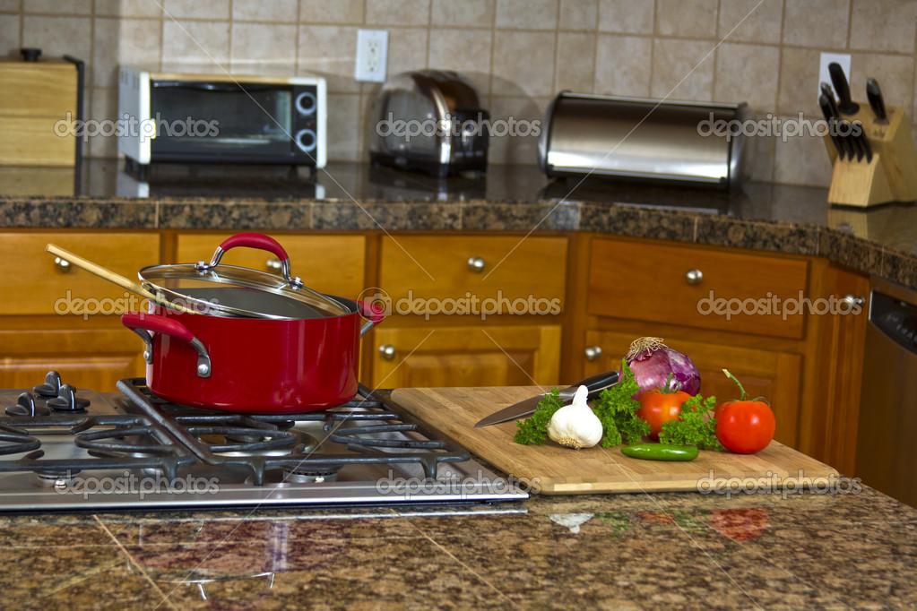 Retro kitchen stove photo - 3