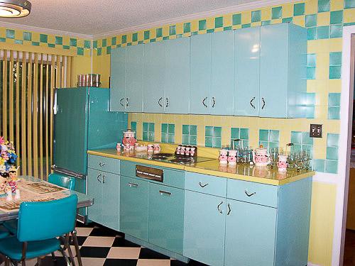 Retro kitchen table photo - 1