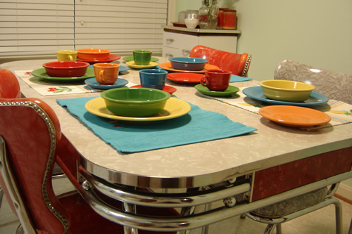 Retro kitchen tables and chairs photo - 3