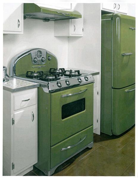 Retro pink kitchen photo - 2