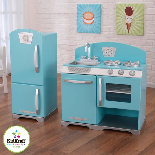 Retro play kitchen photo - 1
