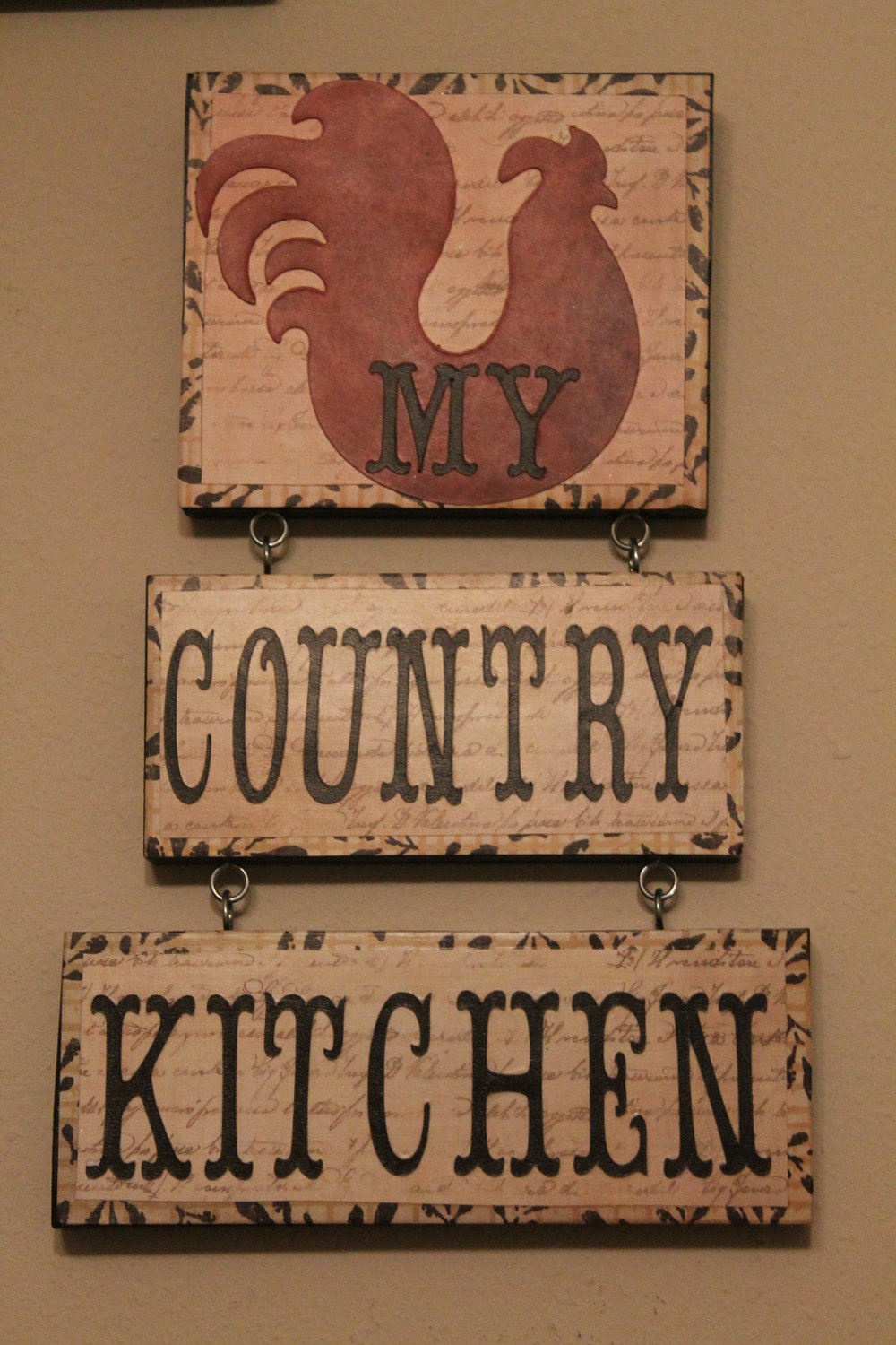 Rooster curtains for kitchen photo - 1