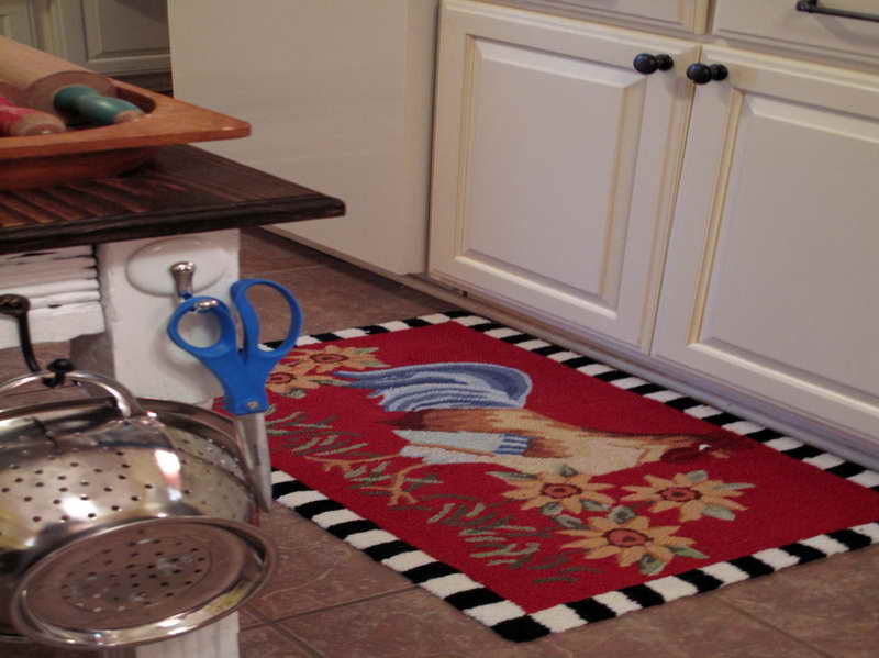 Rooster kitchen rugs photo - 2