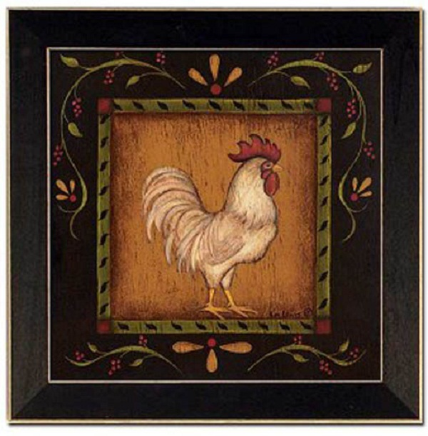 Roosters kitchen decor photo - 1