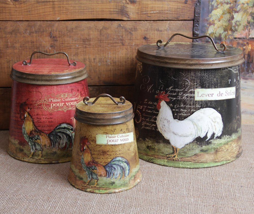 10 Photos To Roosters Kitchen Decor