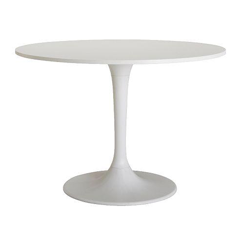 Round glass kitchen table photo - 2