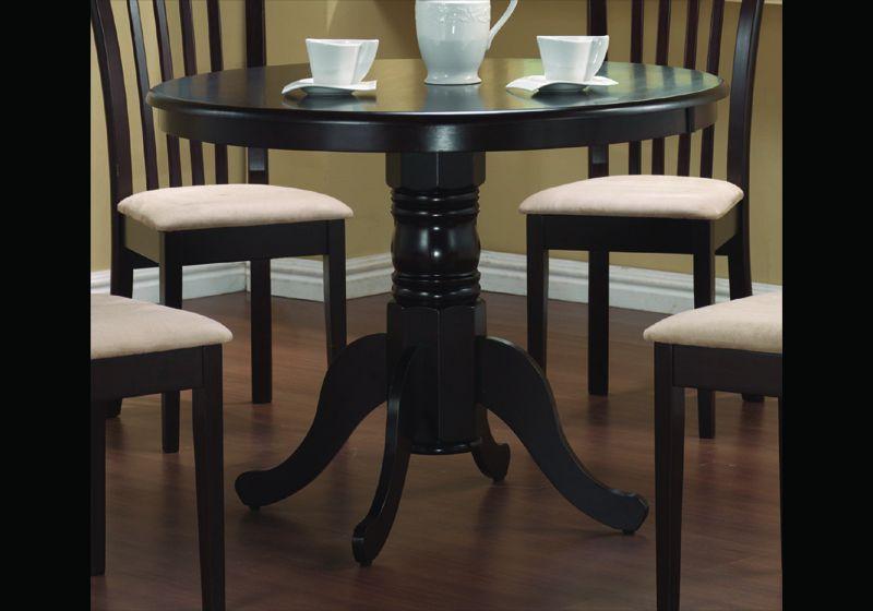 Round pedestal kitchen table photo - 3