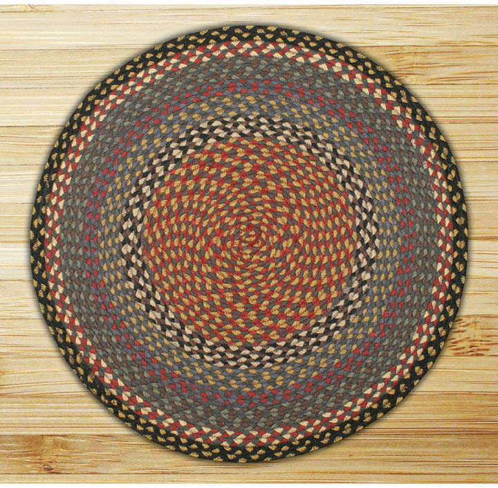 Round rugs for kitchen photo - 1