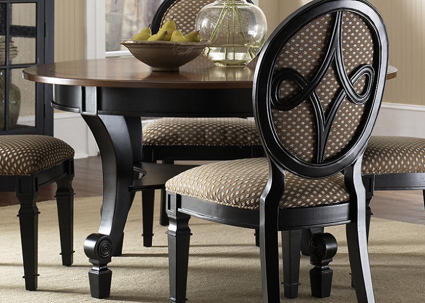 Round table kitchen sets photo - 1