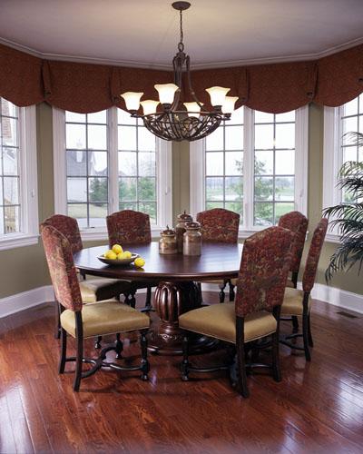 Round table kitchen sets photo - 3