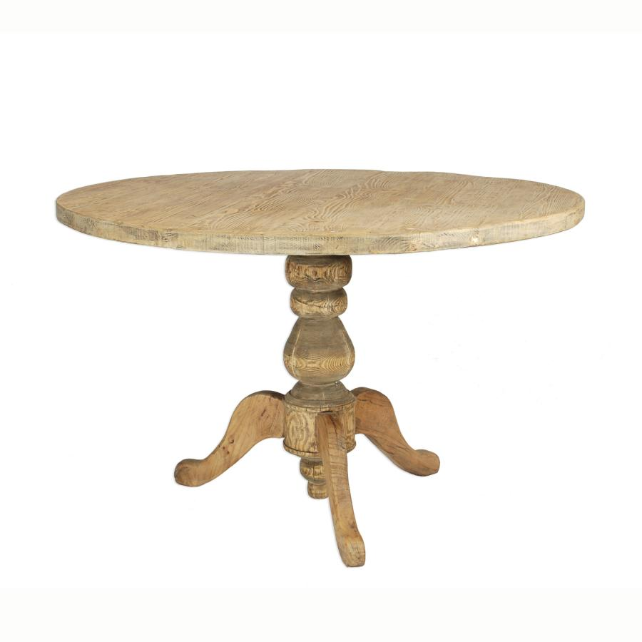 Round wooden kitchen table - 10 Photos To Round Wooden Kitchen Table