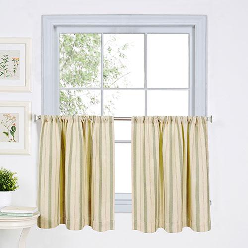 Sage kitchen curtains photo - 3