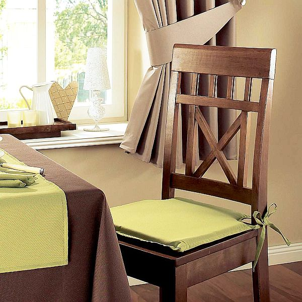 Seat cushions for kitchen chairs photo - 1