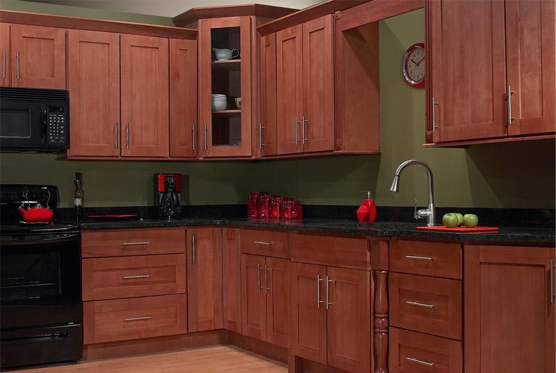 Shaker kitchen island photo - 3