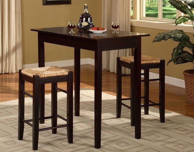 Small bistro table set for kitchen photo - 3